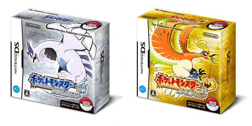 Pokemon Soul Silver e Heart Gold chegam com o maior hype!